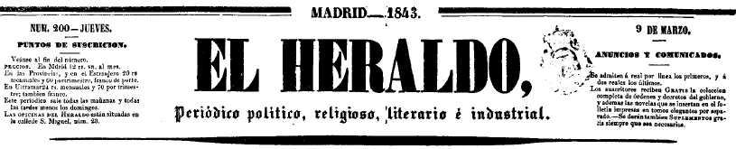 el-heraldo-periodico-ano-1843