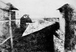 Foto más antigua del mundo año 1826