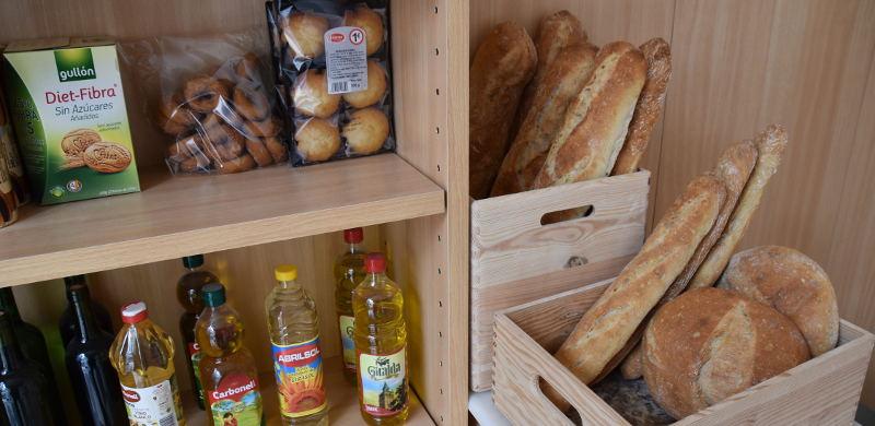 Pan artesanal e productos da tenda